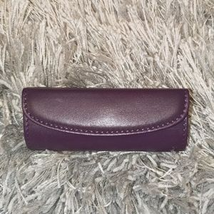 Rare Coach purple lipstick holder NWOT